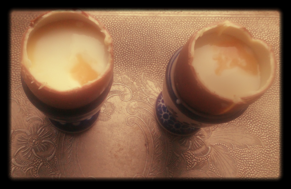jajka czekoladowe