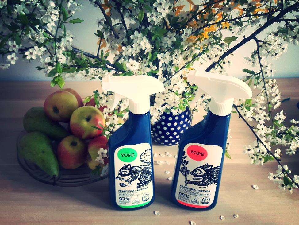 Naturalny płyn do czyszczenia łazienki Francuska Lawenda YOPE