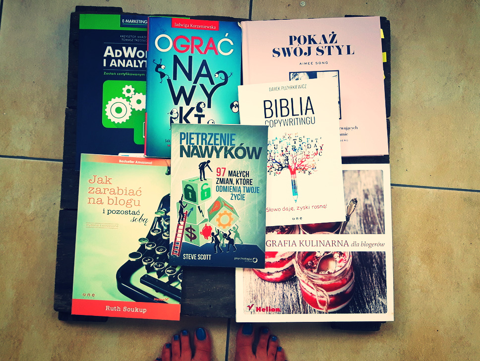 książki dla blogera