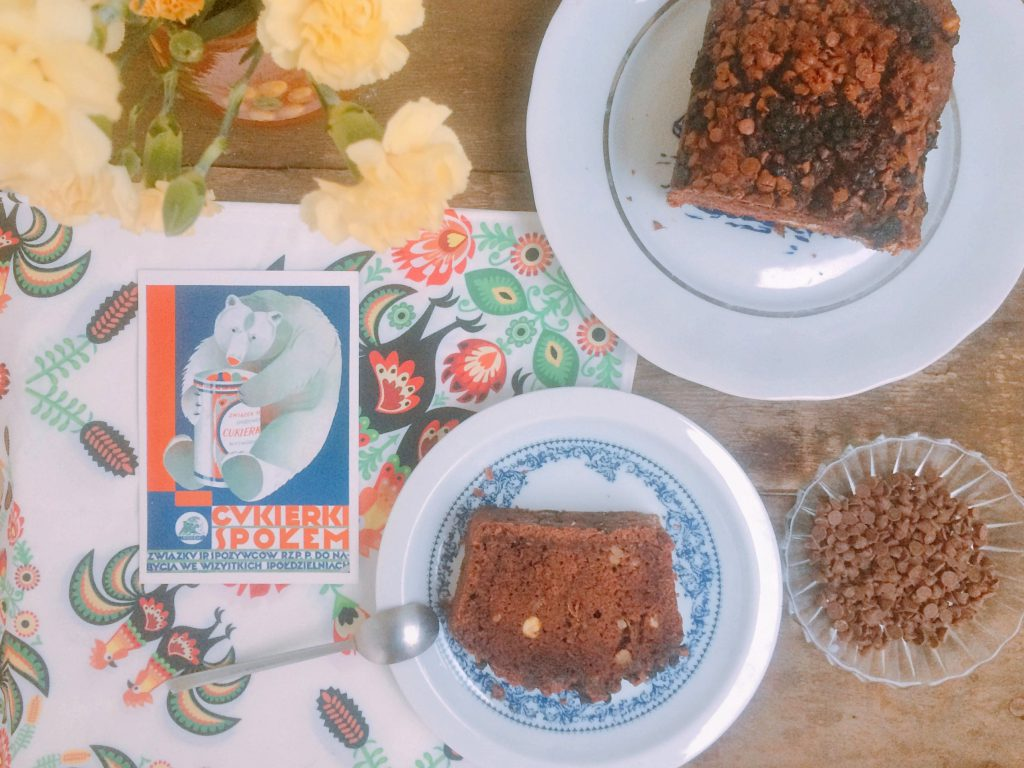 Przepis na czekoladowe ciasto z ciecierzycy