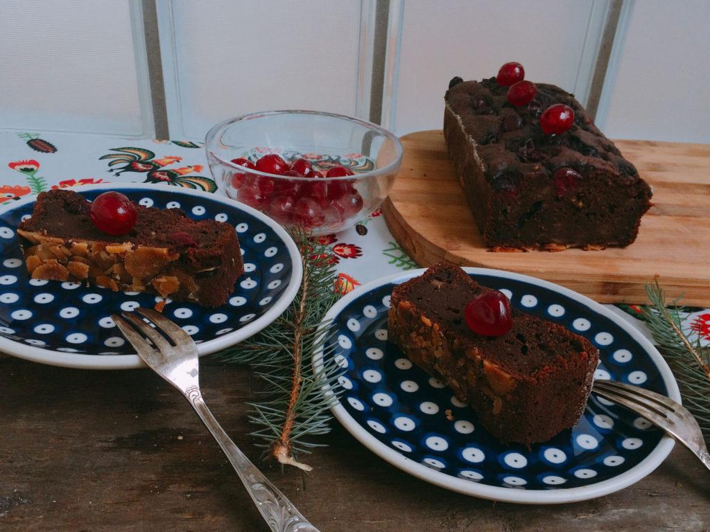 Ciasto czekoladowe warzywne z bakłażanem